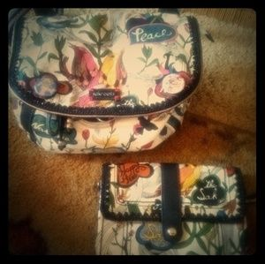 ✳️Sakroots.. convertible purse to backpack...